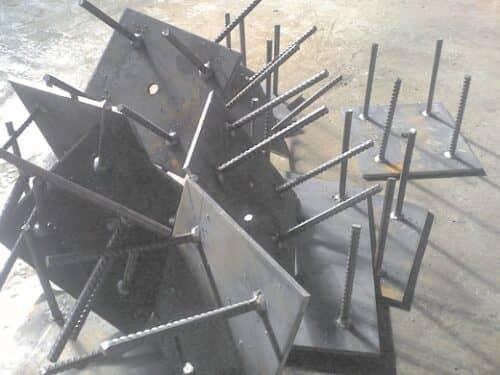 Мини цех по производству металлоконструкций в гараже на снимке
